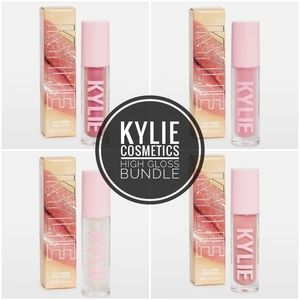 KYLIE COSMETICS High Gloss Bundle RV$64